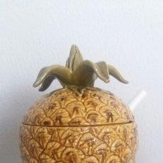 Vintage - Vintage sopera forma piña con hojas - 75982679