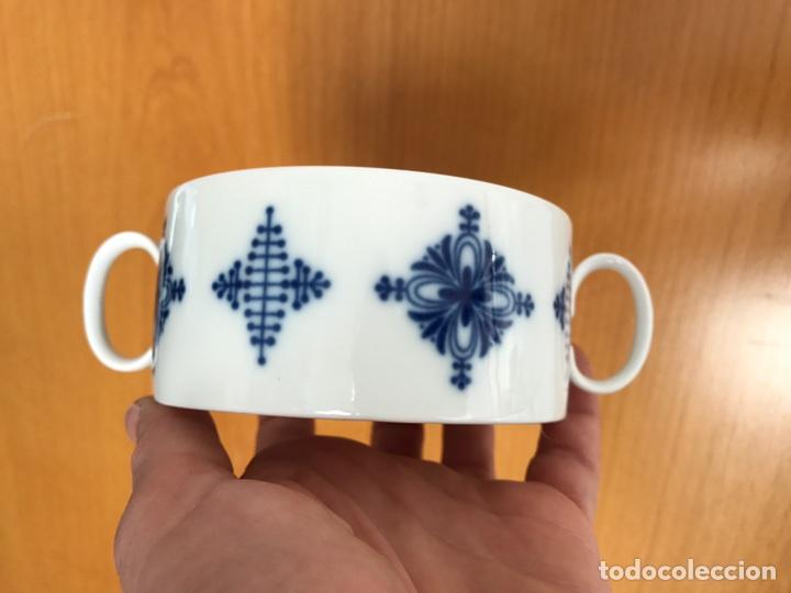 JUEGO 7 DE TAZAS DE CONSOMÉ. PORCELANA VINTAGE THOMAS ALEMANIA (Vintage - Decoración - Porcelanas y Cerámicas)
