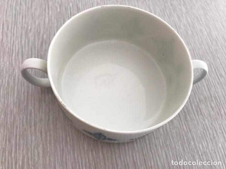Vintage: Juego 7 de tazas de consomé. Porcelana vintage Thomas Alemania - Foto 4 - 76867109