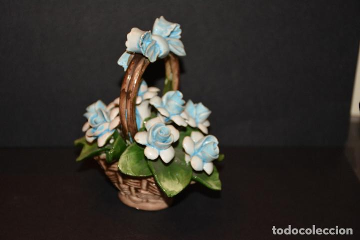 Vintage: Nuova Campodimonte Figura de porcelana de Nuova Campodimonte - Foto 2 - 77098381