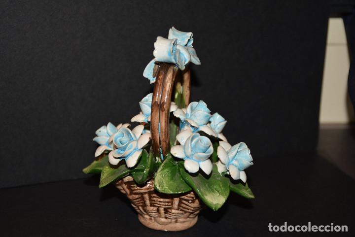 Vintage: Nuova Campodimonte Figura de porcelana de Nuova Campodimonte - Foto 3 - 77098381