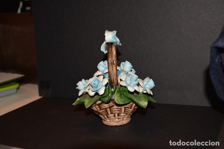 Vintage: Nuova Campodimonte Figura de porcelana de Nuova Campodimonte - Foto 4 - 77098381