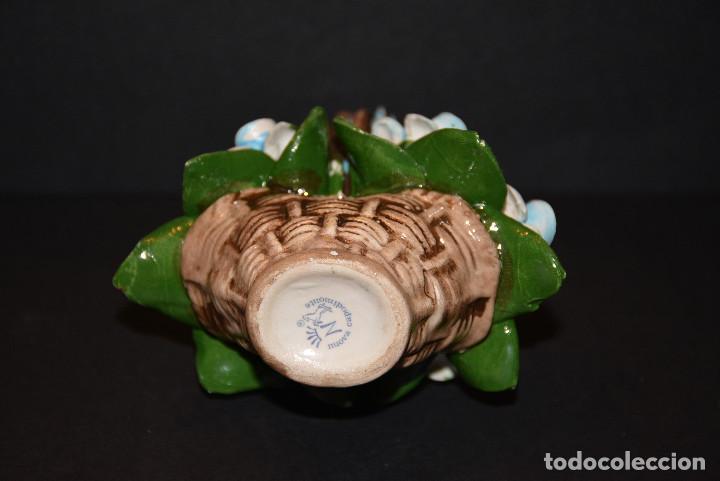 Vintage: Nuova Campodimonte Figura de porcelana de Nuova Campodimonte - Foto 6 - 77098381