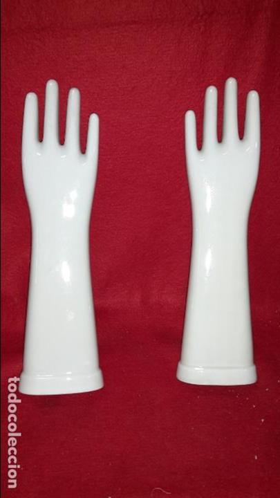 Vintage: Maniquies de porcelana para guantes - Foto 2 - 78175497