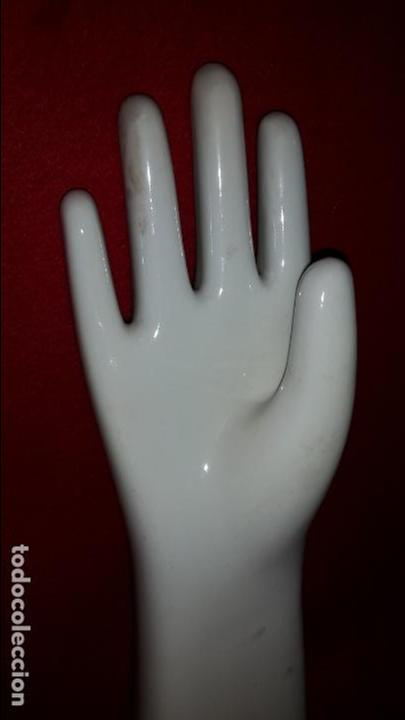 Vintage: Maniquies de porcelana para guantes - Foto 3 - 78175497
