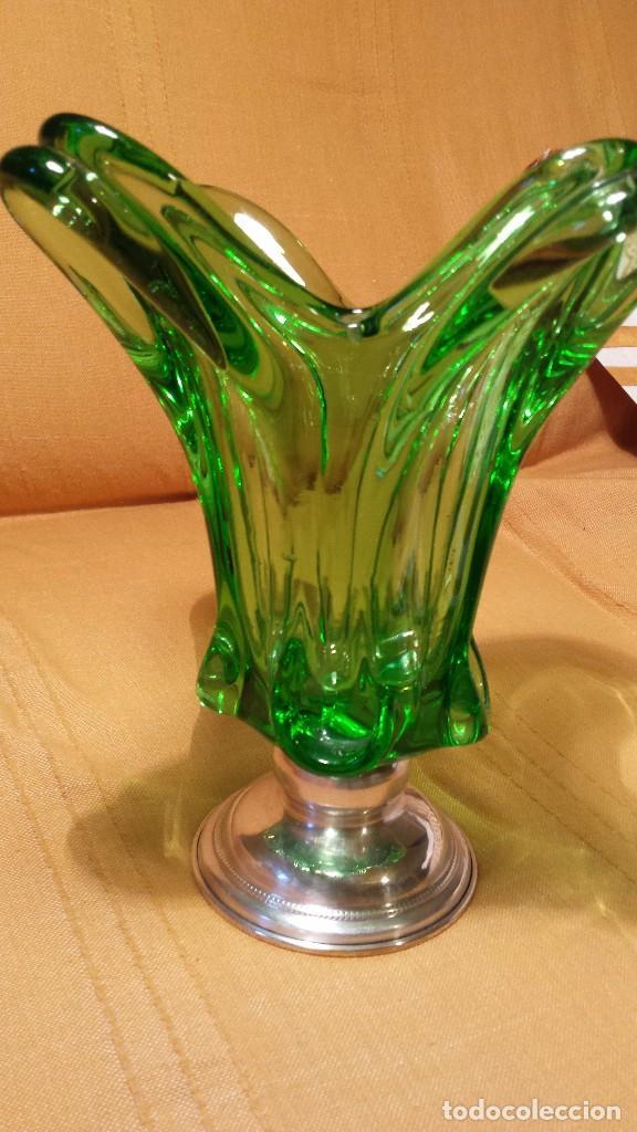 CENTRO DE MESA DE MURANO (Vintage - Decoración - Cristal y Vidrio)