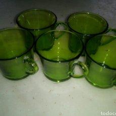 Vintage: LOTE 5 TAZAS CAFE DURALEX. Lote 78303630