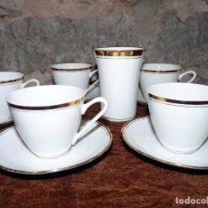 Vintage: JUEGO DE CAFE CHECO ART DECÓ. Lote 80283669