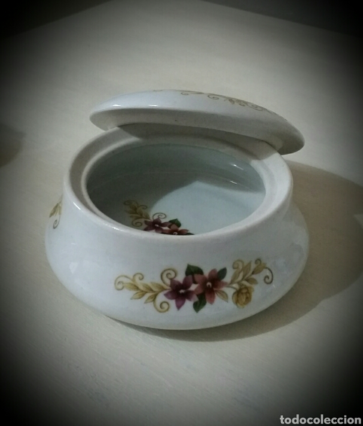 Vintage: Antiguo joyero de porcelana - Foto 2 - 80373894