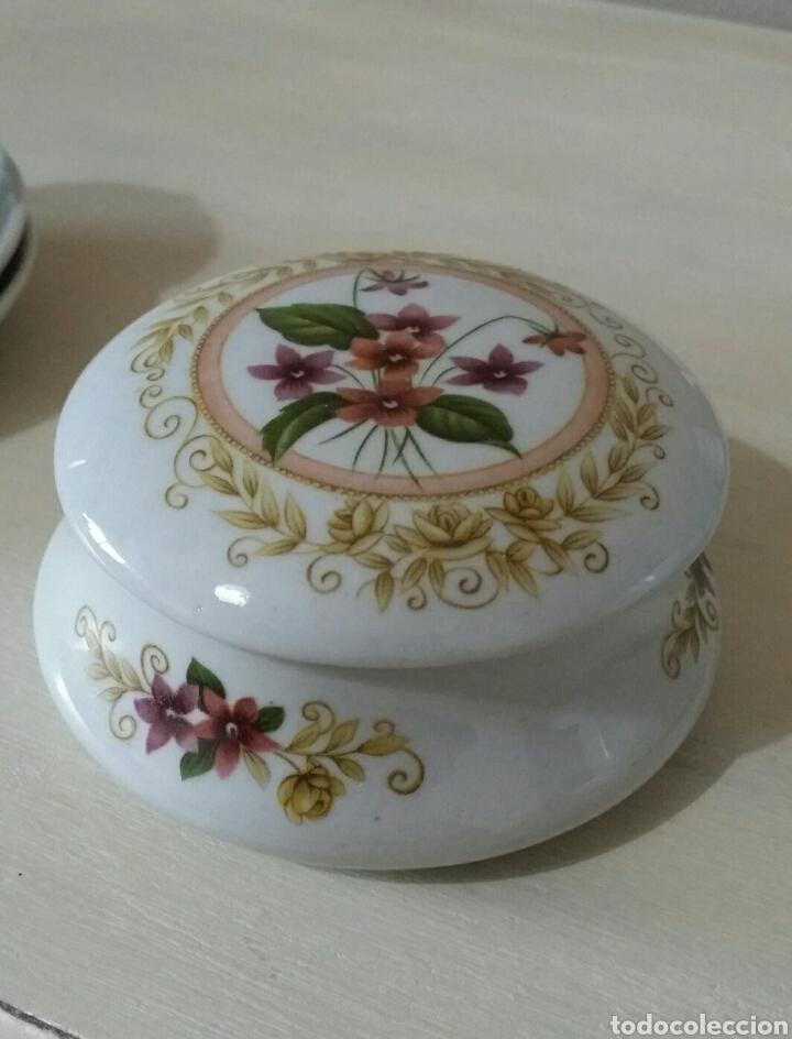 Vintage: Antiguo joyero de porcelana - Foto 3 - 80373894