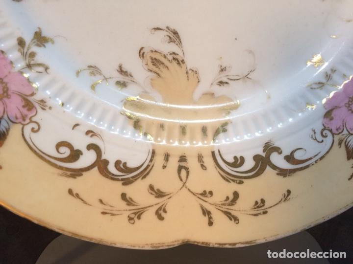 Vintage: Plato porcelana - Foto 2 - 81047919