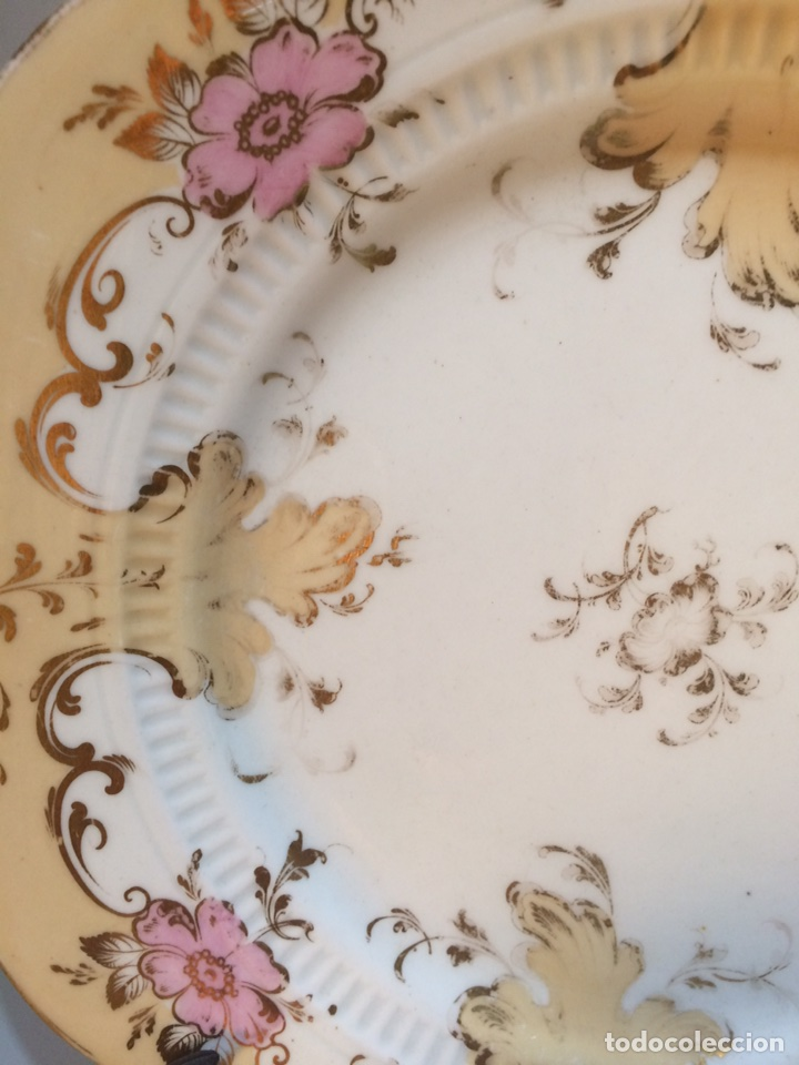 Vintage: Plato porcelana - Foto 4 - 81047919