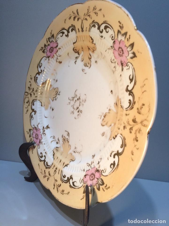 Vintage: Plato porcelana - Foto 5 - 81047919