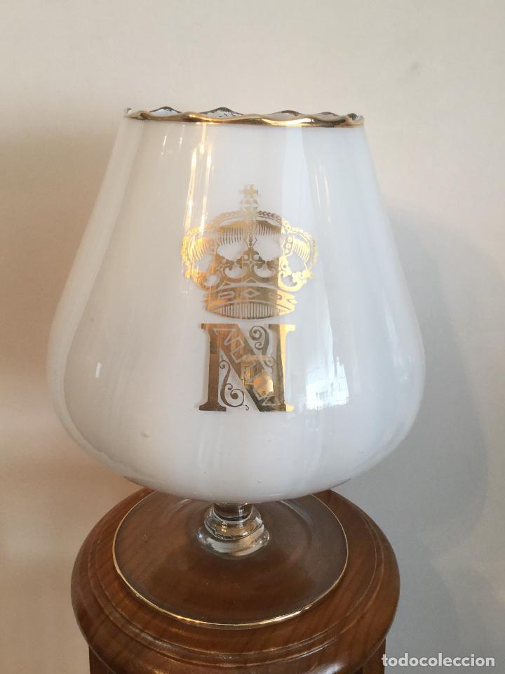 Copa Gigante Vintage De Coñac Napoleón Años 60