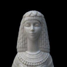 Vintage: FANTASTICA GRAN FIGURA CLEOPATRA PORCELANA O CERAMICA IDEAL DECORACION EGIPCIA . Lote 81568748