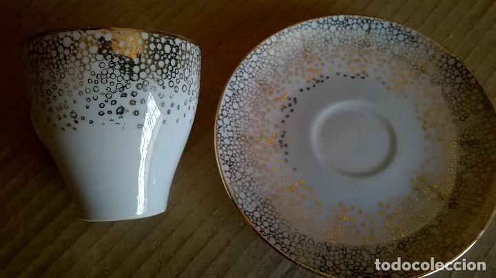 Vintage: juego de cafe porcelana años 50. - Foto 5 - 40415878