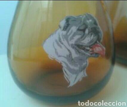 Vintage: Jarra y 3 vasos licor cristal vintage - Foto 4 - 83768887