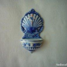 Vintage: PILA DE AGUA BENDITA EN CERÁMICA DA ULLA. 11 CM. . Lote 85829192