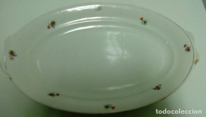 FUENTE PORCELANA ROYAL CHINA VIGO-AÑOS 60 (Vintage - Decoración - Porcelanas y Cerámicas)