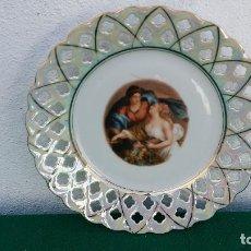 Vintage: PLATO PORCELANA. Lote 87410572