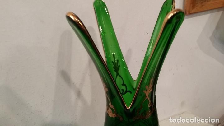 Vintage: jarron cristal de murano - Foto 3 - 88295916