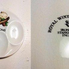 Vintage: PLATO DECORATIVO SPOONS / ROYAL WINTON POTTERY IRONSTONE ENGLAND. Lote 88766200