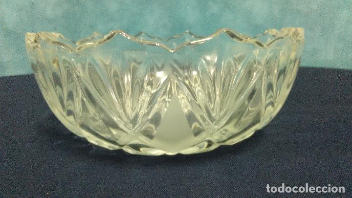 BOL CUENCO CRISTAL TALLADO (Vintage - Decoración - Cristal y Vidrio)