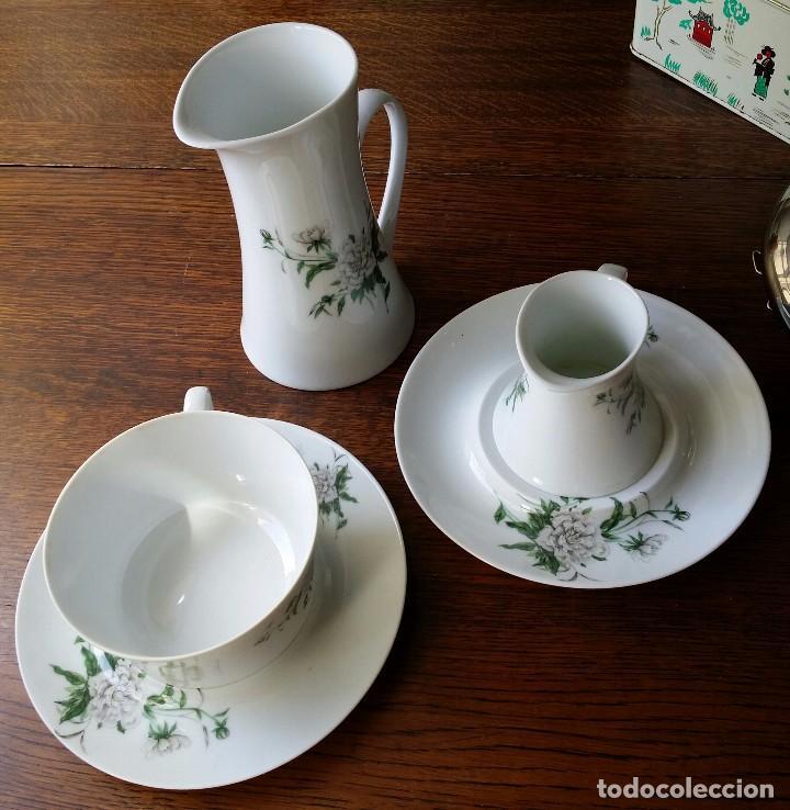 PORCELANA BIDASOA 3 PIEZAS (Vintage - Decoración - Porcelanas y Cerámicas)