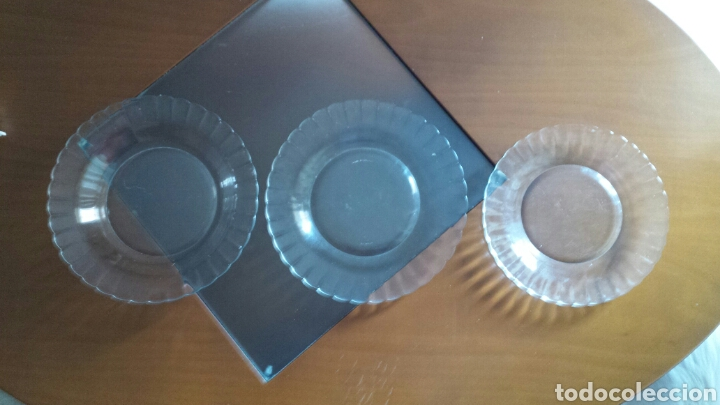 PLATOS DURALEX (Vintage - Decoración - Cristal y Vidrio)