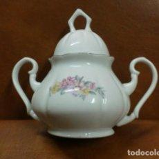 Vintage: ANTIGUO AZUCARERO DE PORCELANA. Lote 89621844