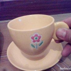 Vintage: BONITO JUEGO,DE 6 TAZAS Y PLATOS,CAFE,DESAYUNO.. Lote 90390052
