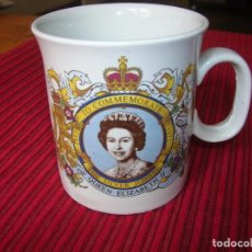 Vintage: TAZA .TO COMMEMORATE.1952 - 1977 THE SILVER JUBILEE OF QEEN ELIZABETH I I . Lote 91237600