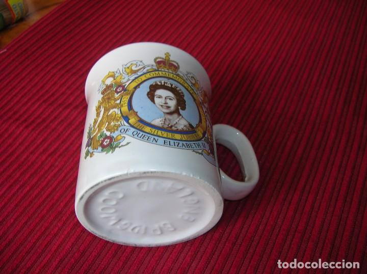 Vintage: Taza .To Commemorate.1952 - 1977 The Silver Jubilee of Qeen Elizabeth I I - Foto 2 - 91237600