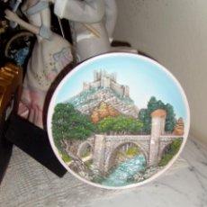 Vintage: PRECIOSO PLATO DE CERAMICA, SOUVENIR. Lote 91859030