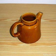 Vintage: CAFETERA O TETERA EN CERAMICA ESMALTADA.. Lote 92858890