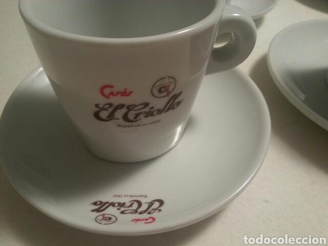 Vintage: JUEGO DE 6 SERVICIOS DE PORCELANA DE - CAFES EL CRIOLLO - MARCA REG. 1910 - - Foto 2 - 93044087