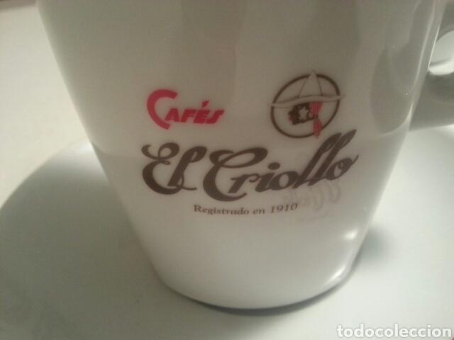 Vintage: JUEGO DE 6 SERVICIOS DE PORCELANA DE - CAFES EL CRIOLLO - MARCA REG. 1910 - - Foto 5 - 93044087
