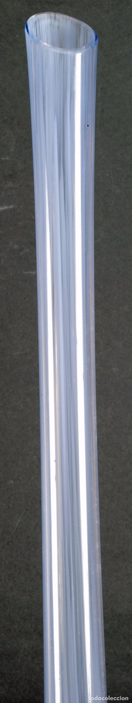 Vintage: Centro botella cristal murano soplado color azul vintage años 50 - 60 - Foto 3 - 93687220