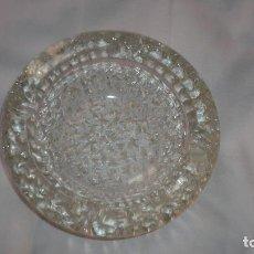 Vintage: CENICERO DE CRISTAL TALLADO. Lote 93908940