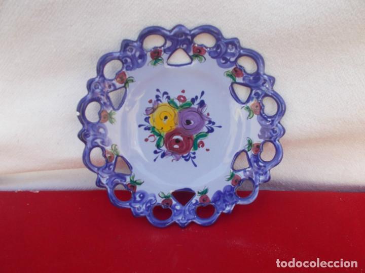 PLATO PEQUEÑO (Vintage - Decoración - Porcelanas y Cerámicas)