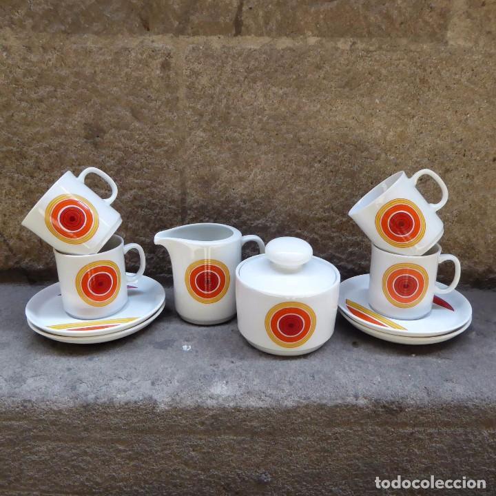 JUEGO DE CAFE WINTERLING KIRCHENLAMITZ BAVARIA, 60S (Vintage - Decoración - Porcelanas y Cerámicas)