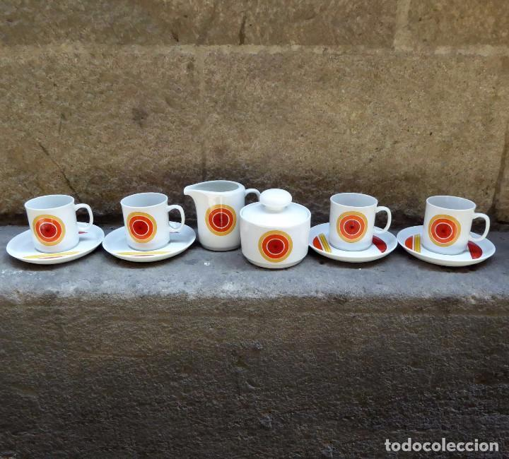 Vintage: Juego de cafe Winterling Kirchenlamitz Bavaria, 60s - Foto 2 - 94566419