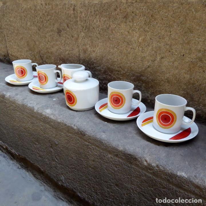 Vintage: Juego de cafe Winterling Kirchenlamitz Bavaria, 60s - Foto 3 - 94566419