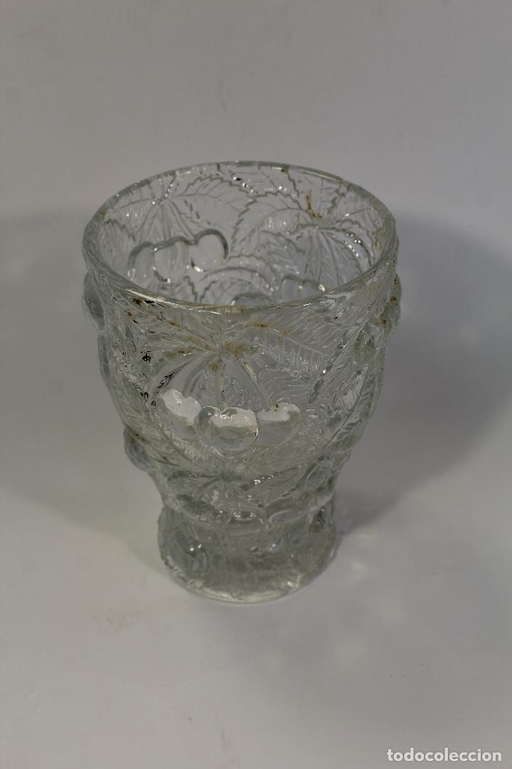 Vintage: jarron florero cristal - Foto 2 - 95244111