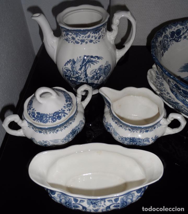 Vajilla la cartuja de sevilla 108 piezas comprar porcelana y cer mica vintage en - Vajilla la cartuja ...
