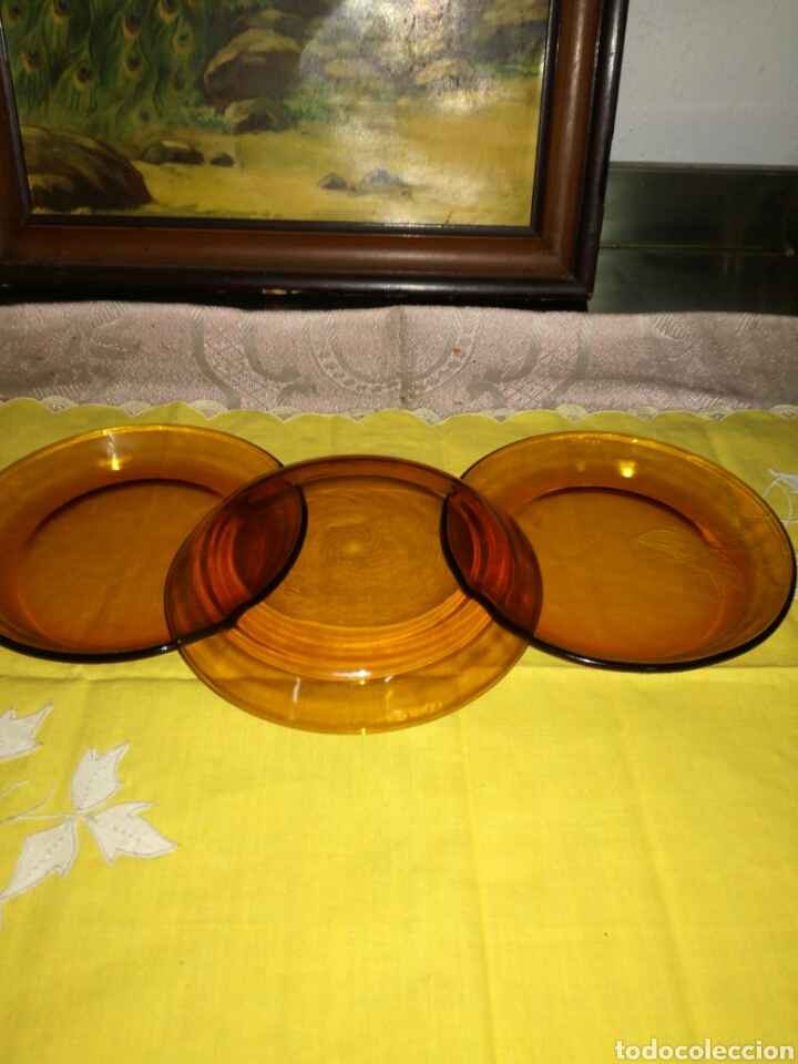 Vintage: 3 pequeños platos Duralex - Foto 2 - 96110532