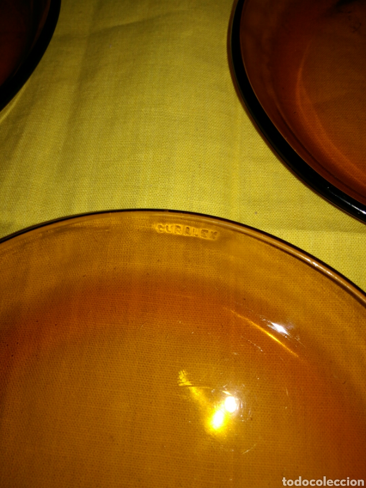 Vintage: 3 pequeños platos Duralex - Foto 3 - 96110532