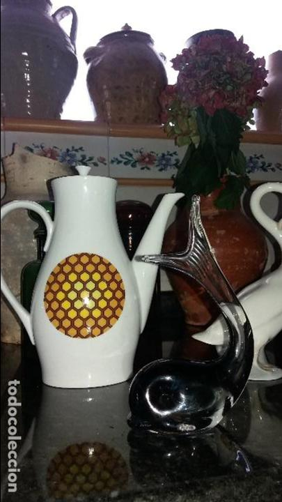 CAFETERA BIDASOA (Vintage - Decoración - Porcelanas y Cerámicas)