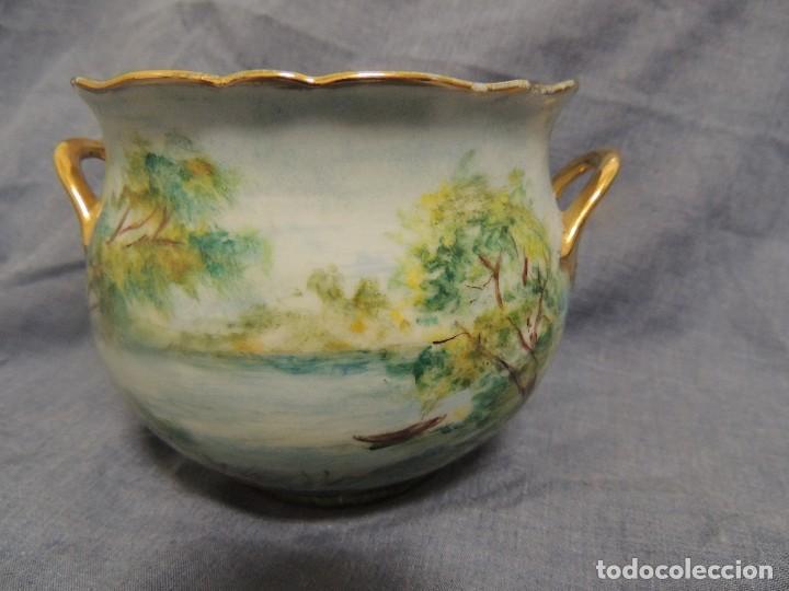 VASO DE PORCELANA ALEMANA KAISER NUMERADO Y FIRMADO (Vintage - Decoración - Porcelanas y Cerámicas)