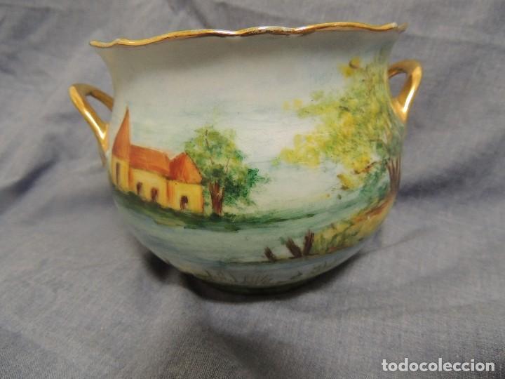 Vintage: vaso de porcelana alemana Kaiser numerado y firmado - Foto 2 - 96237751
